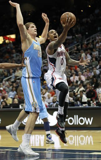 Horford, Smith lead Hawks past Nuggets 108-104