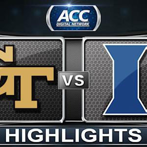 Georgia Tech vs Duke | 2014 ACC Women's Basketball Tournament Highlights