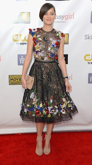 Marion Cotillard at Critics' Choice Movie Awards 2013