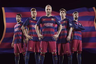 New Barcelona home shirt has hoops for the first time ever