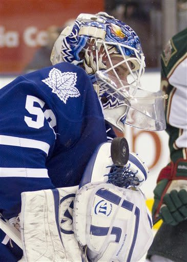 Kessel, Lupul lead Leafs to 4-1 win over Wild