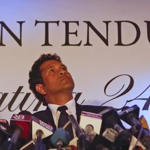It was right time to retire: Sachin