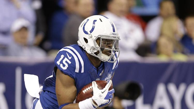 Colts waive suspended WR Brazill