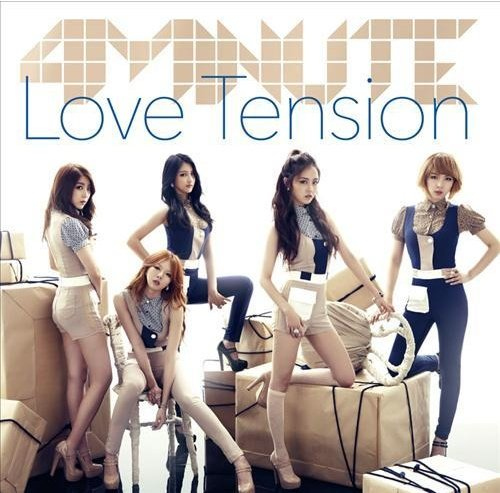 4minute to release their new Japanese single 'Love Tension'