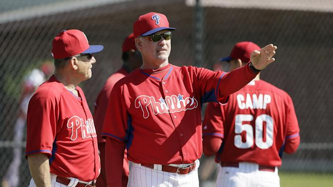 Sandberg sets tone for Phillies this spring