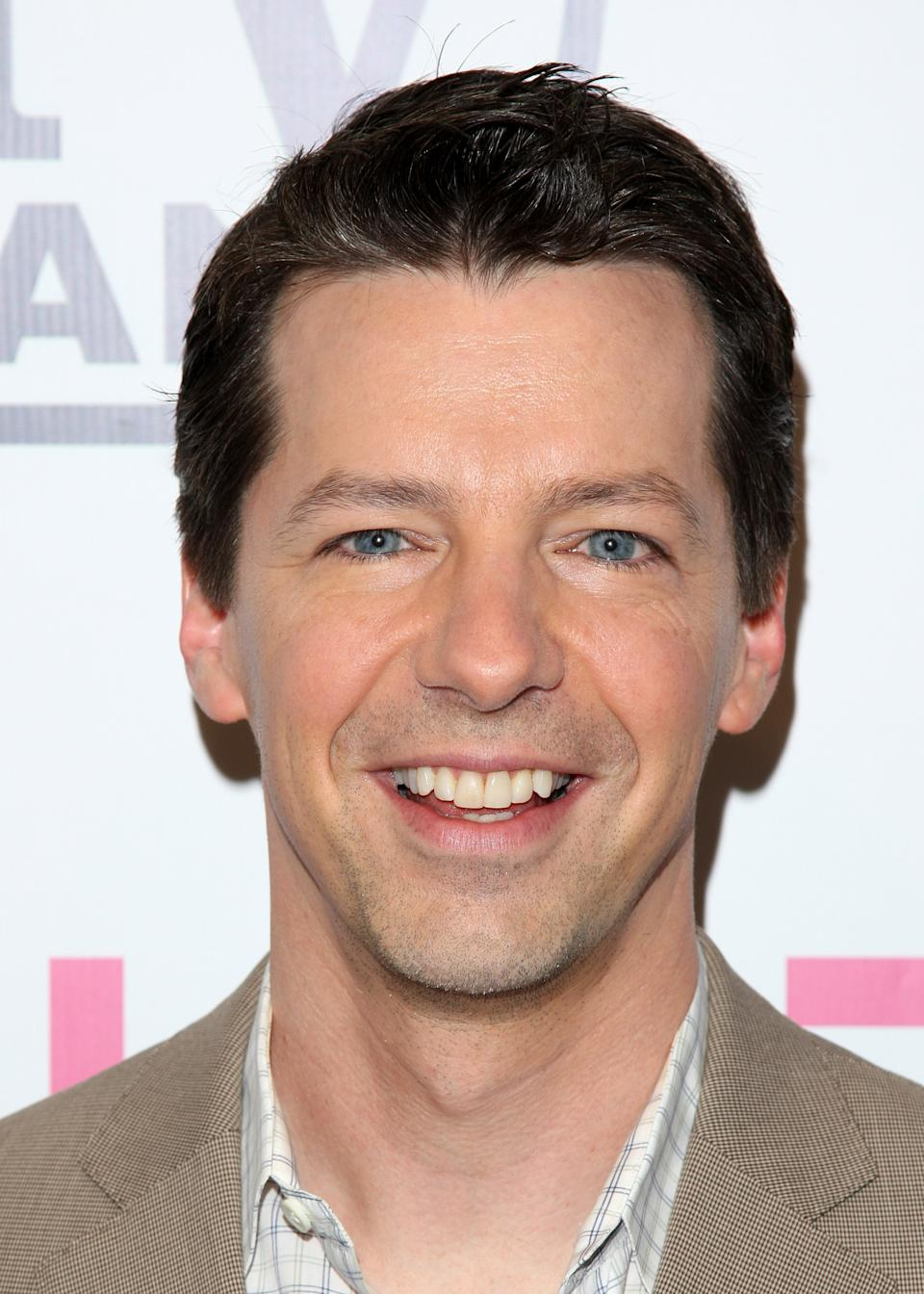 "FILE - In this June 14, 2010 file photo, actor Sean Hayes attends the TV Land screening of ""Hot in Cleveland"" in New York. New NBC Entertainment chief Robert Greenblatt said he's drawing on Will Ferrell, Sean Hayes and other proven talent to help turn the fourth-place network's fortunes around. (AP Photo/Peter Kramer)"