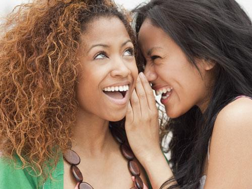 We tell our girlfriends more than we admit to you (but less than you fear).