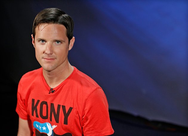 Jason Russell, maker of viral documentary &quot;Kony 2012&quot; on Ugandan guerrilla leader Joseph Kony, was found wandering naked in March during a psychotic episode apparently brought on by criticism of the film. (Brendan McDermid/Reuters)