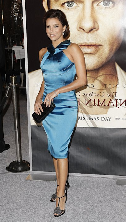 The Curious Case of Benjamin Button Premiere 2008 LA Eva Longoria Parker