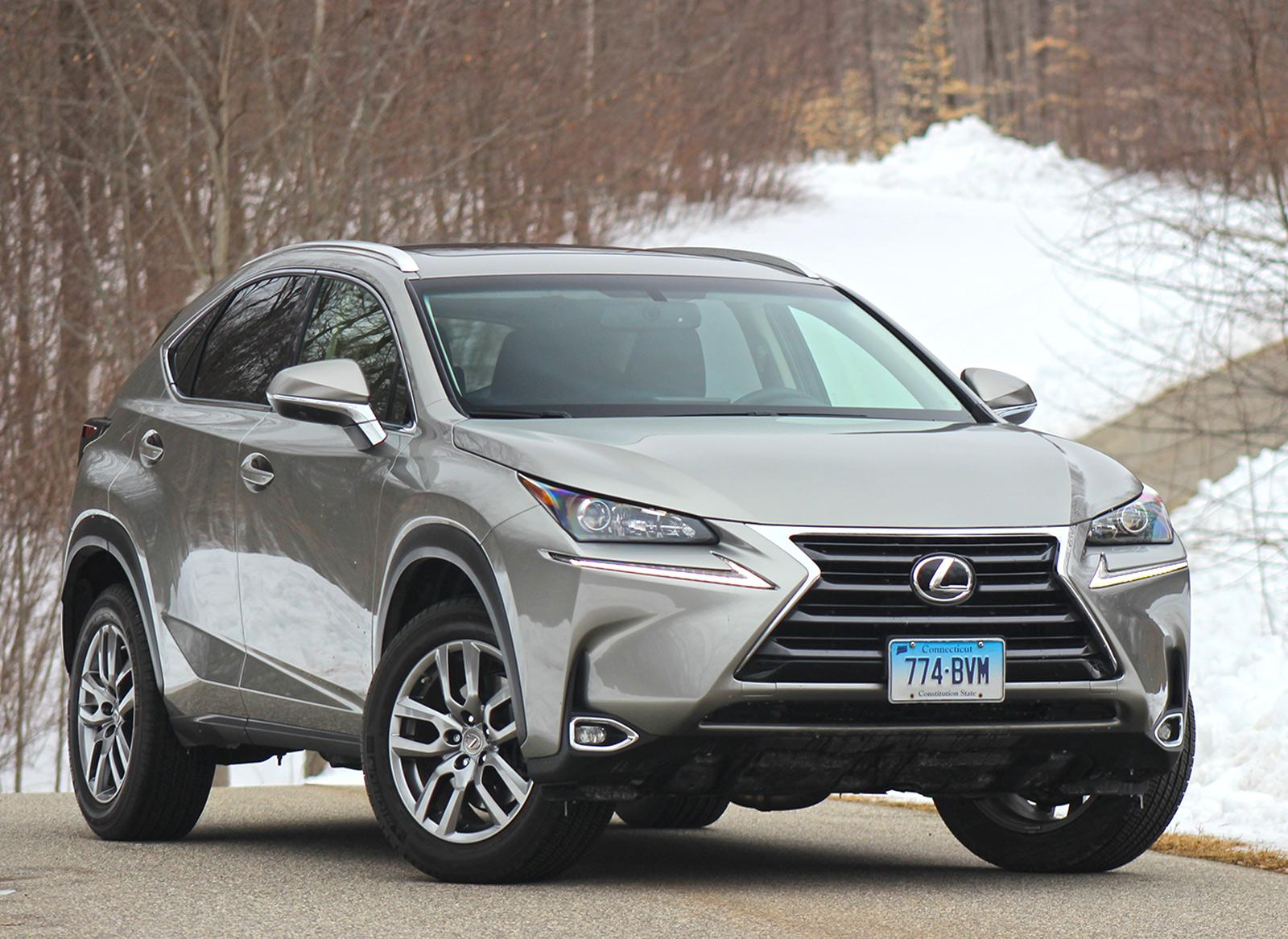 Edgy 2015 Lexus NX 200t proves agile and downright youthful