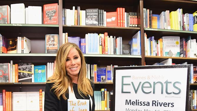 """Melissa Rivers Signs Copies Of Her Book """"The Book of Joan: Tales Of Mirth, Mischief, And Manipulation"""""""