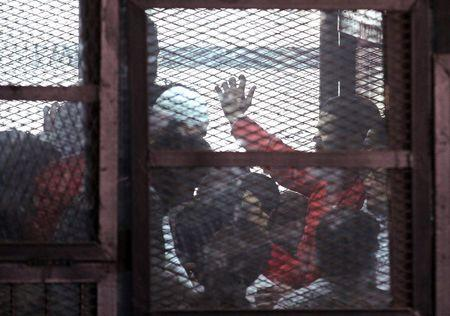 Egypt puts over 200 on trial, accused of militant activity