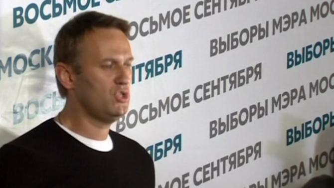 Putin ally leading in Moscow mayoral race, Navalny cries foul