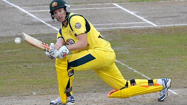 Skipper George Bailey scored 89 runs Australia posted 305-5 against Sri Lanka