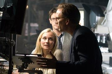 Diane Kruger , Justin Bartha and Nicolas Cage in Walt Disney Pictures' National Treasure: Book of Secrets