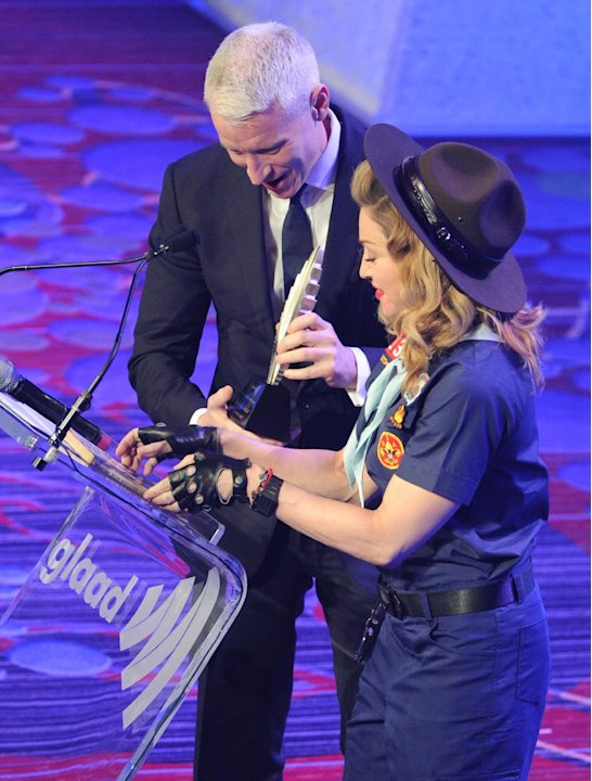 Singer Madonna presents CNN …