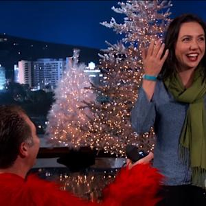 Surprise Marriage Proposal on 'Kimmel'