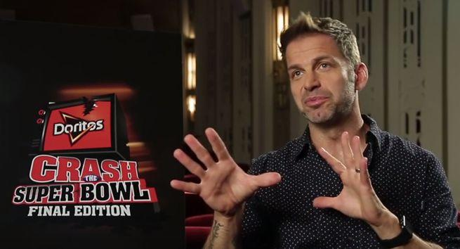 Doritos Crash The Super Bowl Commercial With Batman V. Superman's Zack Snyder