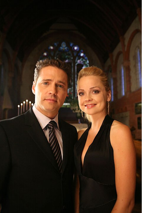 Jason Priestly and Marisa Coughlin star in A Side Order Of Life.