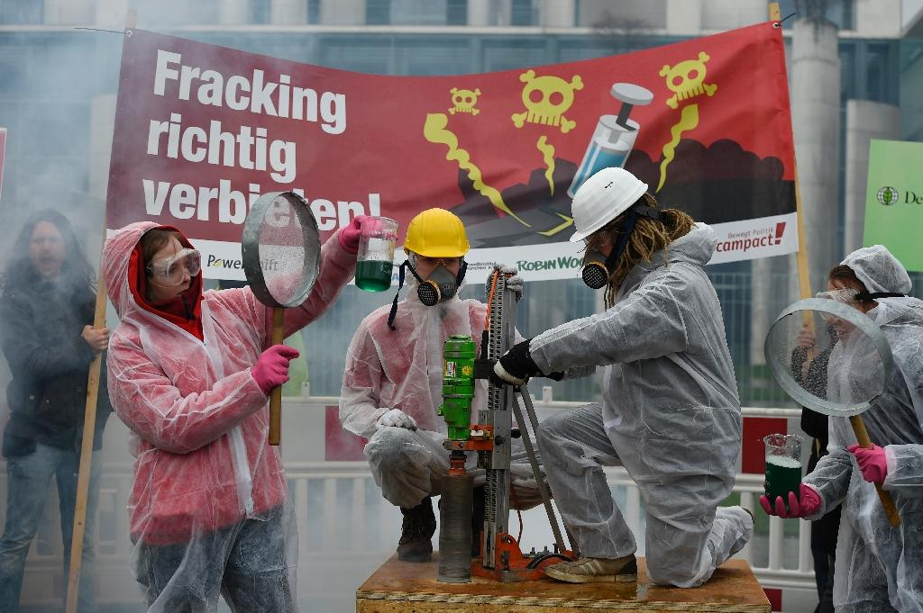 Germany restricts fracking but doesn't ban it
