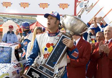 Will Ferrell in Columbia Pictures' Talladega Nights: The Ballad of Ricky Bobby
