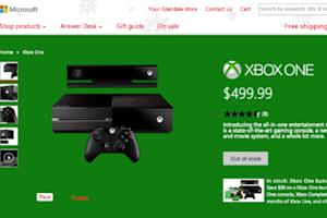 Xbox One Sells Out on First Day of Global Sales