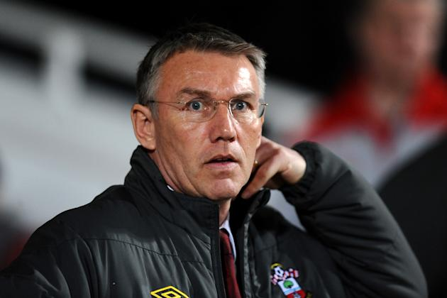 Nigel Adkins admitted he is feeling the heat over Southampton's results