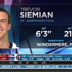 Denver Broncos pick quarterback Trevor Siemian No. 250 in 2015 NFL Draft