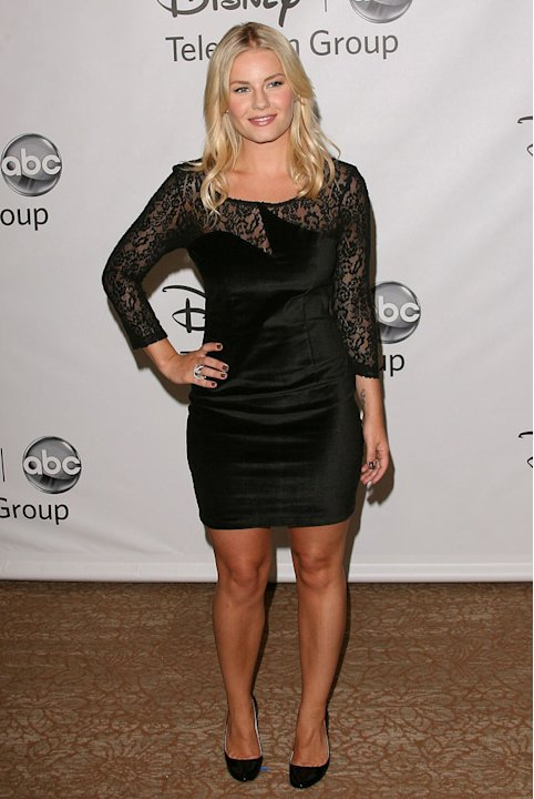 "Elisha Cuthbert of ""Happy Endings"" attends the Disney ABC Televison Group's 'TCA 2001 Summer Press Tour' at the Beverly Hilton Hotel on August 7, 2011 in Beverly Hills, California."