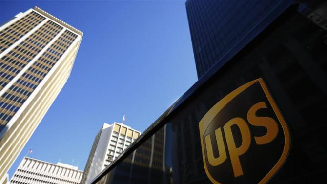 File photo of United Parcel Service UPS truck in San Diego