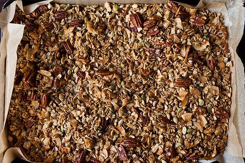 Nekisia Davis' Olive Oil and Maple Granola By Genius Recipes • 42 Comments