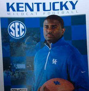 Derrick Ansley, the Kentucky coach who gave an offer to Brents — Twitter