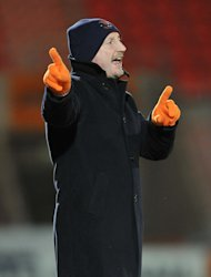 Blackpool chairman Karl Oyston insists the club has not been approached over manager Ian Holloway