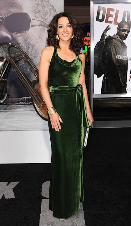 The Book of Eli LA premiere 2010 Jennifer Beals