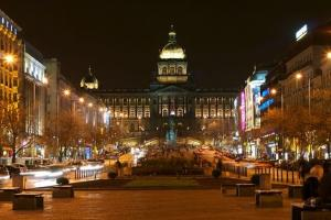 Saint Wenceslas Square, Prague, Czech Republic