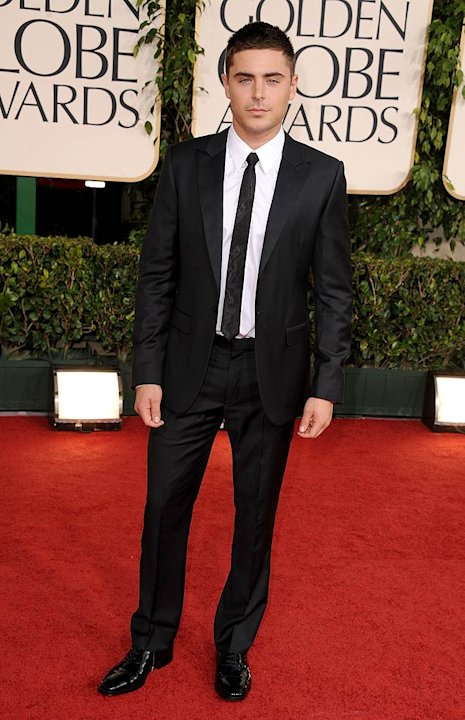 Zac Efron Golden Globe Awards