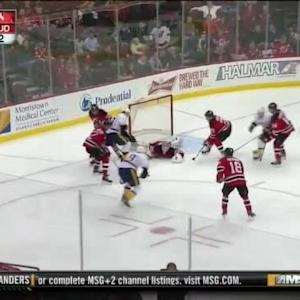 Cory Schneider Save on Roman Josi (05:17/3rd)
