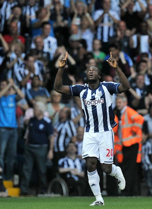Chelsea loanee Romelu Lukaku scored the only goal to give West Brom all three points