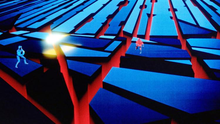 Tron Walt Disney Pictures 1982
