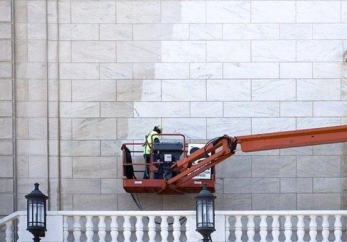 Architectural Exfoliation: DIA's Marble Facade Begins $100k Summer Spa Treatment
