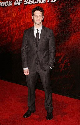 Justin Bartha at the New York City premiere of Walt Disney Pictures' National Treasure: Book of Secrets