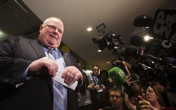 Police Just Raided the Complex Where Rob Ford's Video Might've Been Stashed