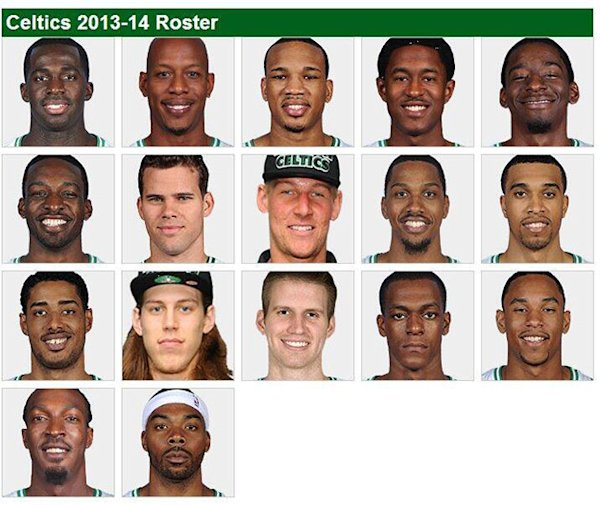 Rajon Rondo seems excited about the 2013-14 Boston Celtics roster | Ball Don't Lie - Yahoo Sports