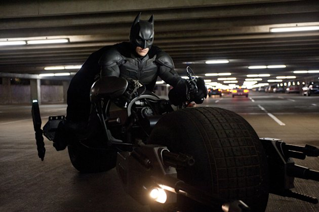 Batman's superhero suit has been voted top in a poll of film fans