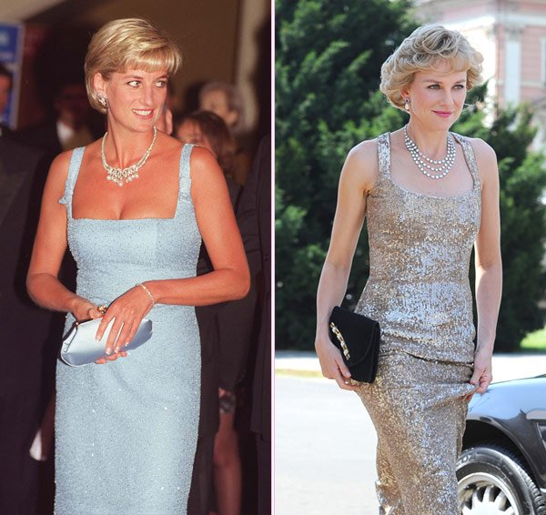 Naomi Watts Is Spitting Image Of Princess Diana Filming New Movie