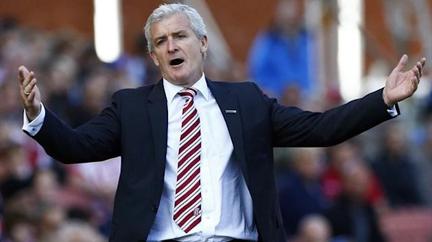 Stoke boss Mark Hughes (Reuters)