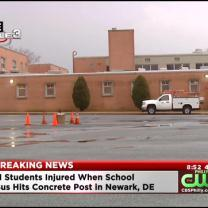 Students Injured In Delaware School Bus Accident