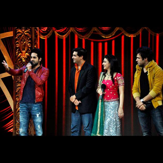 Spotted: Ayushman, Sonali on reality show