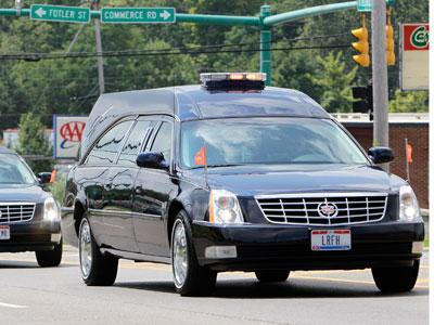 Raw Video: Funeral for Colorado shooting victim
