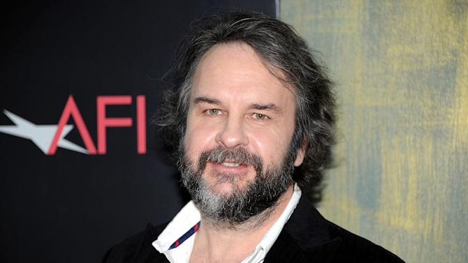 """Writer and director Peter Jackson attends the premiere of """"The Hobbit: An Unexpected Journey"""" at the Ziegfeld Theatre on Thursday Dec. 6, 2012 in New York. (Photo by Evan Agostini/Invision/AP)"""